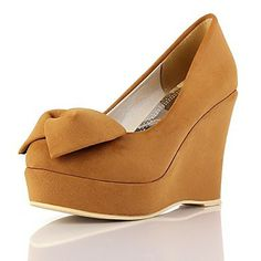 b61a11817675 Spring and Autumn Women s Faux Leather New Fashion Wedge Pumps Party   Evening Shoes More Colors