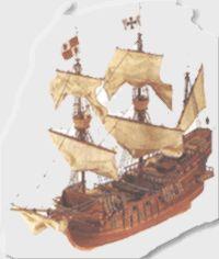 San Francisco Ship Model