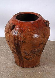 Spanish Antique Terracotta Oil Jar