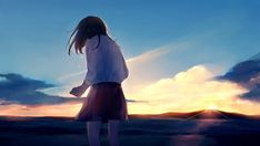 Fairy Tail Art, Animated Love Images, Like Image, Anime Scenery Wallpaper, Evening Sky, Cartoon Art Styles, Fantasy Character Design, Anime Art Girl, Art Pictures