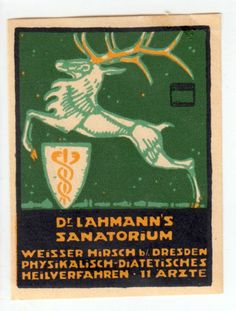 Ludwig Hohlwein,  Poster Stamp