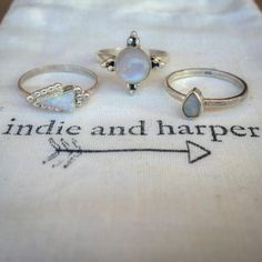 OPALS ♥️ MOONSTONES || Available at www.indieandharper.com