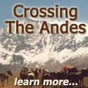 """Crossing the Andes on horseback via the exact route of San MartÌn and his """"Army of the Andes"""" in 1817 in order to free the people of Chile from European monarchs."""