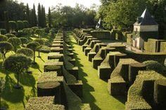 Jardins du Manoir d'Eyrignac  dordogne