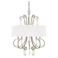 Buy the Capital Lighting Winter Gold Direct. Shop for the Capital Lighting Winter Gold Simone 5 Light 1 Tier Chandelier and save. Drum Shade Chandelier, Gold Chandelier, Chandelier Lighting, Chandeliers, Bedroom Lighting, Contemporary Chandelier, Candelabra Bulbs, Transitional Decor, Lighting Store