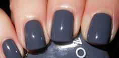 Purple/Blue Gray | Gray Is The Best Color For Any Manicure