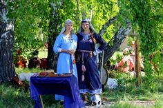Costume Eastern Slavs: Radimichi, 11 се. Фотографии Эльмиры Бурзуевой   22 альбома