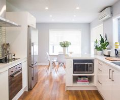 MICROWAVE  L O W   UNDER THE BENCH  Mitre 10, Miter 10 MEGA, renovation, kitchen renovation, kitchen reno, NZ