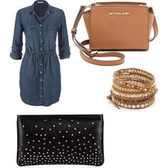 Untitled #466 by evanmonster on Polyvore featuring polyvore Mode style maurices Christian Louboutin MICHAEL Michael Kors Chan Luu