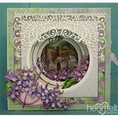 Heartfelt Creations - Layers of Lovely Lilacs Project