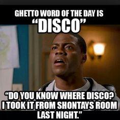 Ghetto word of the day: disco.
