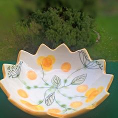 Small ceramic bowl hand painted.. handmade#ceramic #spring #easter#egg#bowl #easteregg# Handmade Ceramic, Ceramic Bowls, Easter Eggs, Hand Painted, Ceramics, Spring, Tableware, Instagram Posts, Crafts