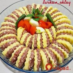 Hayirli huzurlu aksamlar firinda kofteli patates yemegi hepimiz kofte patatesi cok severiz Source by sandraforcadet >> Way Better Charcuterie Platter - vizta recipes My BEST Recipes >> Way Better Charcuterie Platter This food is made from selected ingredi Meat Recipes, Whole Food Recipes, Cooking Recipes, Appetizer Recipes, Charcuterie Platter, Homemade Pastries, Good Food, Yummy Food, Food Decoration