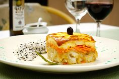 Pratos tipicamente portugueses é no Restaurante Calamares! (Porto Alegre, RS, Brasil)