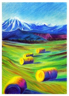 Pastel, Laura Mateescu, www. Pastel, Painting, Cake, Painting Art, Paintings, Paint, Draw, Color Palettes