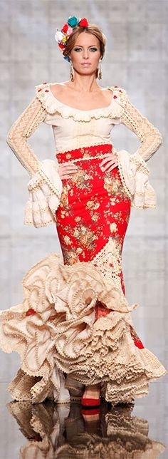 Atelier Rima, Simof 2014 Suit Fashion, Love Fashion, High Fashion, Spanish Woman, Gown Suit, Spanish Fashion, Costume Design, Ball Gowns, Designer Dresses