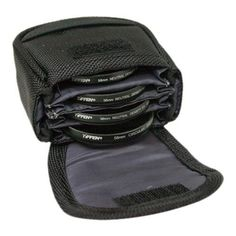 Tiffen 4BLTPCHSMK Small Belt Style Filter Pouch for Filters Up to 58mm >>> Click image to review more details. (This is an Amazon Affiliate link and I receive a commission for the sales)