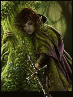 Elven girl Elementals t Fantasy art Fantasy concept art Dragons, Elf Warrior, Forest Elf, Kobold, Elfa, Images Esthétiques, Digital Art Gallery, Elves And Fairies, Image Digital