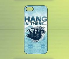 Sloth Hang in There Case IPHONE 5/4/4S, SAMSUNG GALAXY S2/S3/S4, BLACKBERRY Z10
