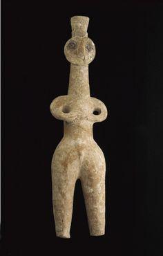 Ancient Near Eastern Art | Anthropomorphic vessel | S1986.501