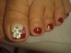 Nails Uñas Decoradas Pies Unghie