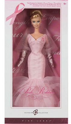 Barbie Collector Pink Ribbon Barbie Doll # pink!!! Bebe'!!! Love, love, love pink!!!