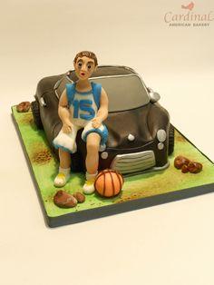 sport car cake / tarta coche deportivo