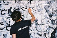 Réalisation d'une fresque en direct pour Seiko - Koala calligraphie Paris Animation, Direction, Seiko, Creations, Paris, T Shirts For Women, Fresco, Calligraphy, Graphic Design
