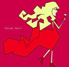 Taylor Swift - Kubism