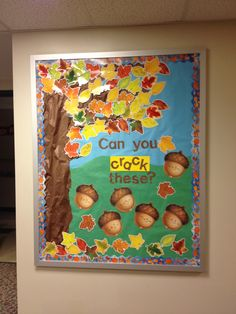 Fall Bulletin Board...from Pinterest to real life!