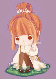 Mori Girl by RinTau.deviantart.com on @deviantART
