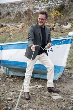 look-blazer-pantalon-blanc-homme