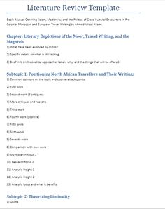 LRtemplate1 Research Writing, Thesis Writing, Dissertation Writing, Academic Writing, Research Paper, Writing Skills, Writing Tips, Report Writing, English Writing
