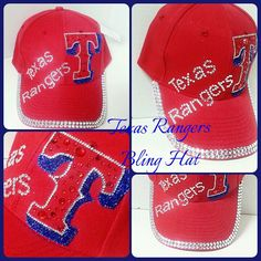 Texas Rangers Bling Hat