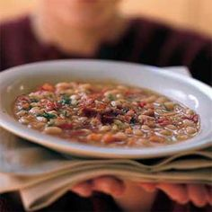 White Bean Soup With Chive Oil Recipes — Dishmaps