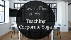 Teaching yoga in a corporate setting is another way to get teaching experience and earn some good money while you& at it. Office Yoga, Yoga Teacher Training, Yoga Benefits, Find A Job, Yoga Fitness, Teaching, Money, Namaste, Business