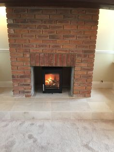 Another great installation of the Parkray Aspect 4 - a great little stove that is super efficient and provides a lovely big view of the fire. Stove, Fire, Home Decor, Cooking Stove, Homemade Home Decor, Hearth, Stoves, Decoration Home, Hearth Pad