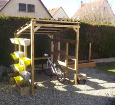 Pergola, Outdoor Structures, Air, Pallet, Facebook, Home, Gardens, Veils, Shed Base