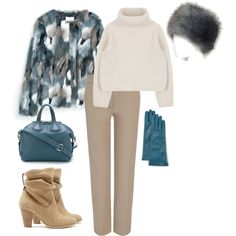 fur coat 3 by sintony on Polyvore featuring мода, MANGO, Joseph, Sole Society, Givenchy, Portolano, coat and fur