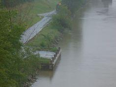 Hochwasser River, Outdoor, Outdoors, Outdoor Games, Outdoor Living, Rivers