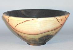 Spalted tullipwood bowl
