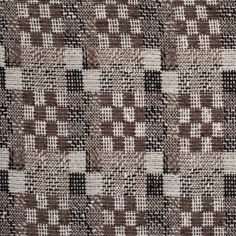 This Oscar de la Renta wool fabric is absolutely fabulous! Deep taupe, taupe, white, and black yarns are loosely woven into a checkered pattern containing the hand of a textured knit. Although textured, this material is pleasantly soft and contains a thicker drape. With it's gorgeous pattern and medium weight, this fabric could be made into a stunning pencil skirt, gorgeous lined pants, a fabulous over-sized sweater, and more!