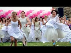 Watch Estonian Brides Race Each Other in Their Wedding Dresses | Atlas Obscura