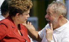 """Dilma, Lula e o Fabuloso mundo petista do combate à corrupção e do """"não sei de nada""""   Continue Lendo Clique Imagem"""