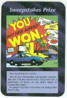 Illuminati card game - Sweepstakes