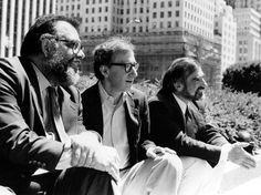 Francis Ford Coppola, Woody Allen & Martin Scorsese.