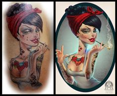After Nestor Marinero Cervano ilustration Disney Characters, Fictional Characters, Snow White, Disney Princess, Tattoos, Art, Art Background, Tatuajes, Snow White Pictures