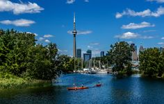 Canada is worth the effort — if you can get them to take you. Image of Toronto, CA courtesy of Shutterstock. Quebec, Places Around The World, Around The Worlds, Toronto Images, Visit Toronto, Toronto Travel, Quick Weekend Getaways, Toronto Island, Small Town America