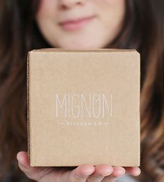 Mignon Kitchen Co.- cute logo and packaging