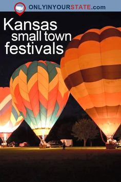Travel | Kansas | Attractions | Small Towns | Festivals | Kansas Festivals | USA | Things To Do | Adventure | Destinations | Tulip Festival | Outdoors | Places To Visit | Spring | Kansas Parks | Cherry Blossom Festival | Hot Air Balloons | Day Trips | Flint Hills | Summer | County Fair | Balloon Fest